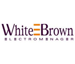 WHITE & BROWN