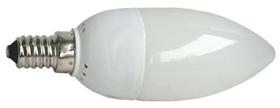 AMPOULE FLUOCOMPACTE E14 - 7W  FLAMME