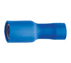 BLISTER 10 COSSES CYLINDRIQUE F. BLEUE 4m/m