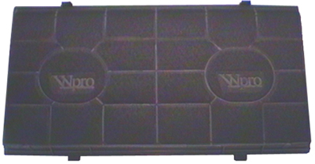 FILTRE CHARBON T190  485x258  HOTTE WHIRLPOOL AFT600 / 620