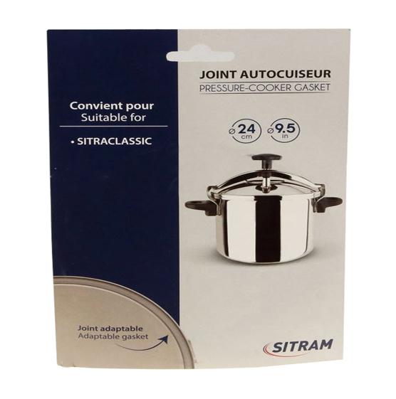 JOINT DE COUVERCLE AUTOCUISEUR 4/10L SITRAM SITRACLASSIC