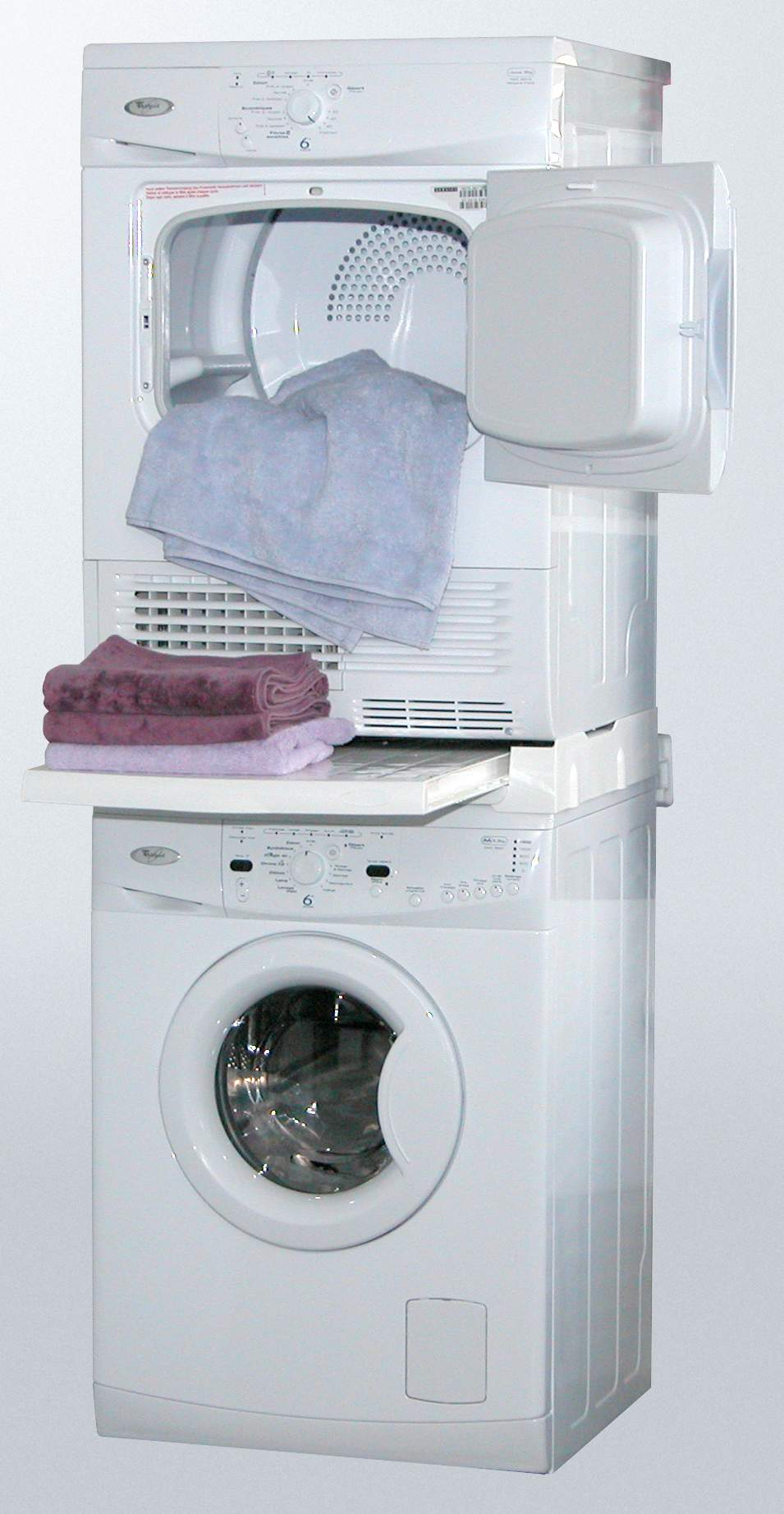 kit de superposition machine a laver et seche linge KIT DE SUPERPOSITION M.A.L.- S.L. 60x60 UNIVERSEL + SANGLE SKS101. KIT DE SUPERPOSITION  LAVE-LINGE ...