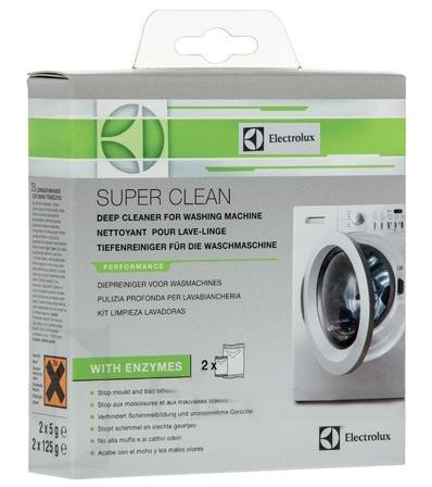 NETTOYANT DEGRAISSANT LAVE-LINGE SUPER-CLEAN ELECTROLUX