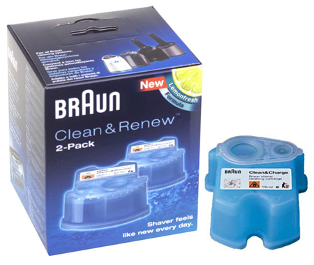 RECHARGES CCR2 NETTOYANT CLEAN & CHARGE BRAUN