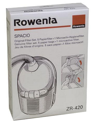 SACS +1MF ORIGINE ASPIRATEUR ROWENTA SPACIO  X5   ZR420