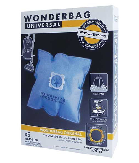 SACS ASPIRATEUR UNIVERSELS WONDERBAG Origine WB406120