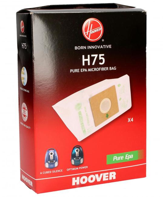 SACS EPA ORIGINE H75 ASPIRATEUR HOOVER A CUBED SILENCE X4