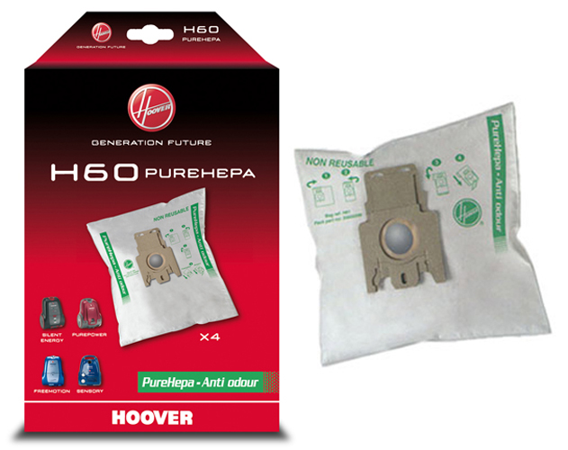SACS PUREHEPA ASPIRATEUR HOOVER PUREPOWER SENSORY FREEMOTION  x4