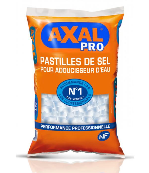 SEL ADOUCISSEUR PASTILLE AXAL Pro  SAC de 15 Kg