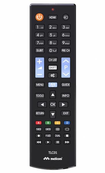TELECOMMANDE TV SAMSUNG TLC01 MELICONI