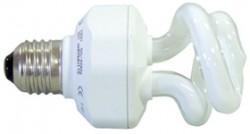 AMPOULE FLUOCOMPACTE E27 - 9 W  MINI SPIRALE      d.32 x 98