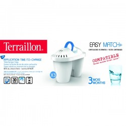 CARTOUCHES EASY MATCH + TERRAILLON OVALE x3