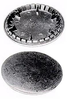 CHAPEAU BRULEUR R. LAITON  D.78 / 88   BRANDT 71X1731