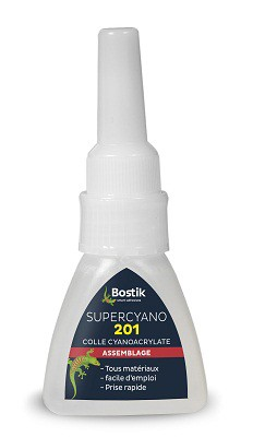 COLLE SUPER CYANOLYTE BOSTIK 20 gr  voir reference 23.071