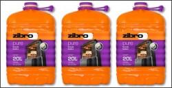 COMBUSTIBLE PETROLE Zibro Pure SANS ODEUR 20L   NT