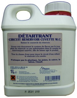 DETARTRANT PRO CIRCUIT / RESERVOIR WC 1L