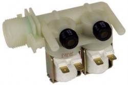ELECTROVANNE 2 Voies LAVE-LINGE INDESIT - ARISTON C00066518