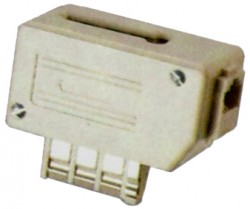 FILTRE ADSL TELEPHONE MALE / GIGOGNE + RJ11