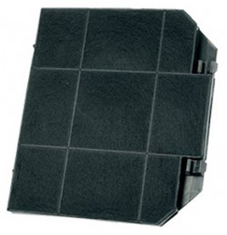 FILTRE CHARBON EFF72  265x235x15 HOTTE INDESIT C00081380 SMEG ROBLIN