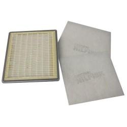 FILTRE HEPA COMPLET ASPIRATEUR NILFISK GM400  21982500
