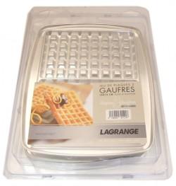 JEU DE PLAQUES 2 GAUFRES 10x15 pour SUPER 2 GAUFRES LAGRANGE