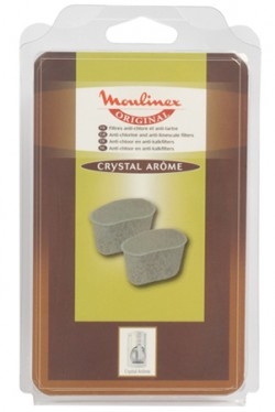 KIT 2 FILTRES ANTI-CHLORE CRYSTAL AROME MOULINEX  AW6401