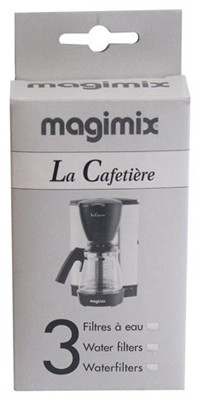 LOT DE 3 FILTRES ANTI-CALCAIRE CAFETIERE 11164 MAGIMIX