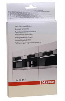 PASTILLES DE DETARTRAGE x6  MACHINE A CAFE ET FOUR MIELE 5626050