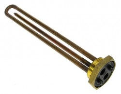 "RESISTANCE CHAUFFE-EAU 1500W FILETEE 1""1/4  Long. 270m/m"