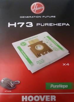SACS HEPA ORIGINE ASPIRATEUR HOOVER ATHOS H73  X4