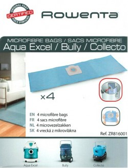 SACS Origine ASPIRATEUR ROWENTA BULLY - COLLECTO RB800 RB820  X4  ZR816