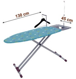 TABLE A REPASSER LIBELLULE 130 x 45