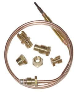 THERMOCOUPLE UNIVERSEL 900m/m + 6 RACCORDS