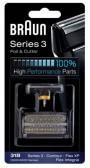 COMBI-PACK 31B RASOIR BRAUN FLEX XP/ INTEGRAL 5000/6000  CONTOUR Serie 3