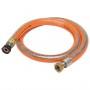 FLEXIBLE INOX GAZ Butane/Propane 2.00 M DUREE ILLIMITEE