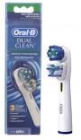JEU 3 BROSSES ORAL-B DUAL CLEAN EB417-3  BRAUN